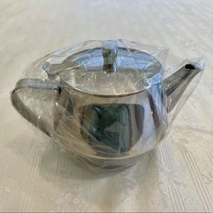 Tea Pot 32OZ. Stainless Steel